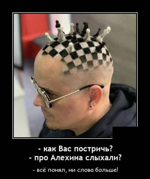 Демотиватор про шахматы