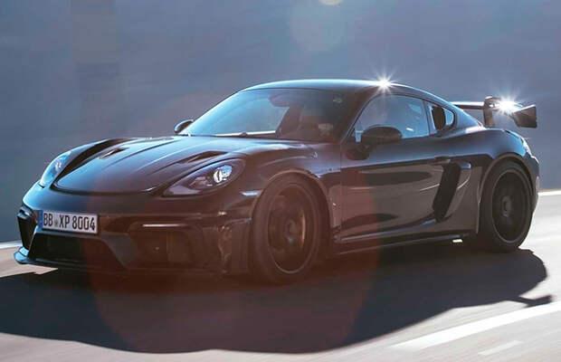 Porsche 718 Cayman GT4 RS дебютирует в ноябре