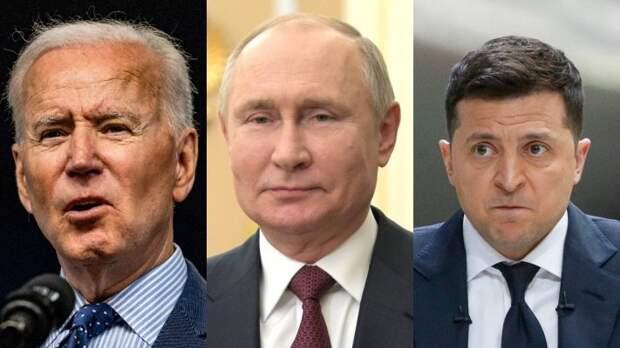 В США предрекли разгром Украины после встречи Путина и Байдена