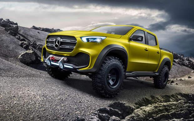 Mercedes-Benz X-класса: из деревенщины во франты