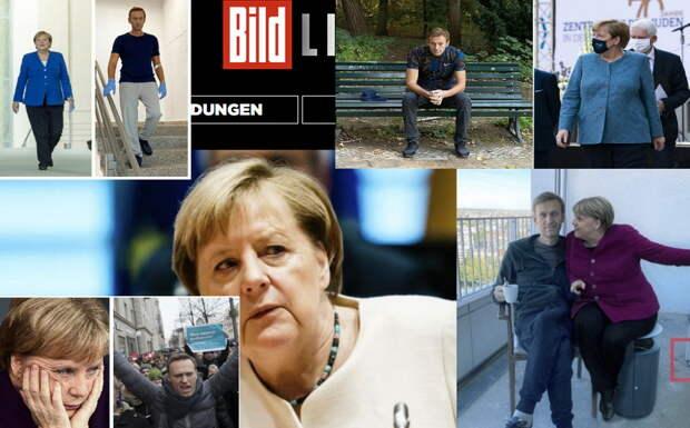 Подробности «тайной» встречи: Меркель видит в Навальном будущего президента России