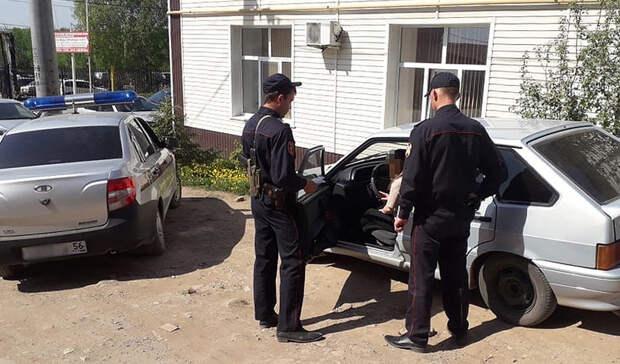 ВБугуруслане задержали пьяную девушку, скрывшуюся сместа ДТП