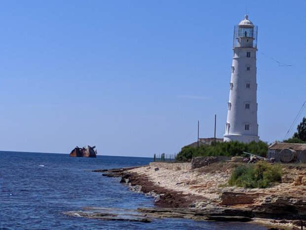 крым черноморское тарханкут туризм маяк