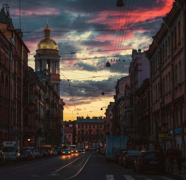 Оттенки Петербурга