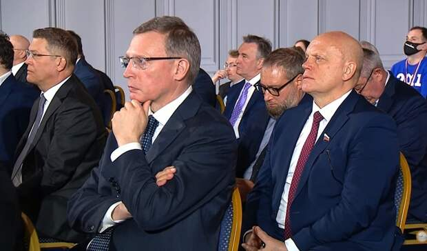 Губернатор Бурков прокомментировал послание Путина Федеральному собранию