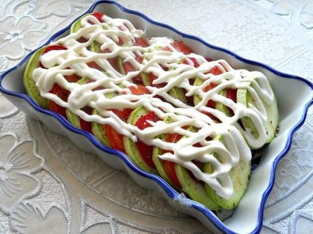 кабачки запеченные с сыром фото рецепт