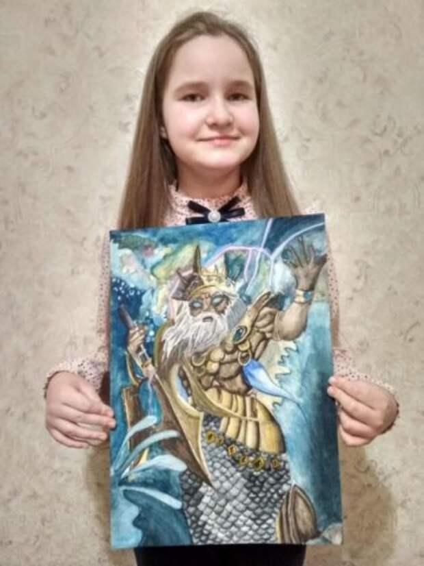 Выставка юной художницы из Минска проходит в Бобруйске.