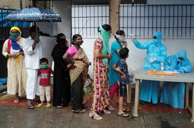 В Индии заявили о неизбежности третьей волны коронавируса