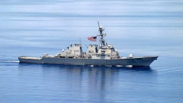 Экипажи ВМС США и Грузии приняли участие в совместных учениях в Черном море