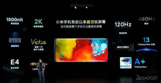 Xiaomi представила флагманский смартфон Mi 11 с технологией быстрой зарядки на 55 Вт