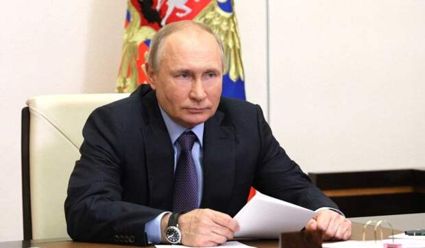 Путин рассказал о предложенных Зеленским темах для саммита России и Украины