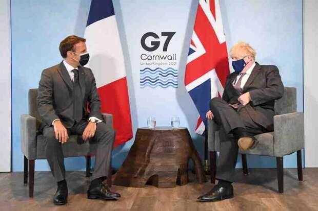 Brexit раздора: Макрон и Джонсон поссорились на саммите G7