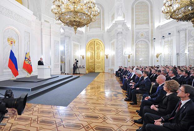 Москва  1 декабря 2016, 13:00 Президент Владимир Путин выступил в Кремле с посланием к Федеральному собранию