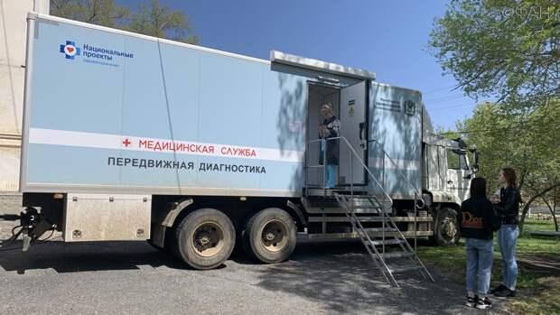 Будни врачей медицинского автопоезда в Приморье: репортаж ФАН