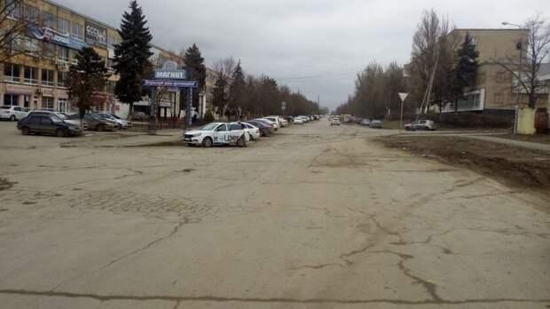 Улицу Буденновскую начали ремонтировать в Новочеркасске