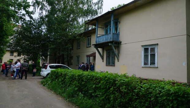 В Подольске жителям двух аварийных домов объявили о переселении в Дубровицы