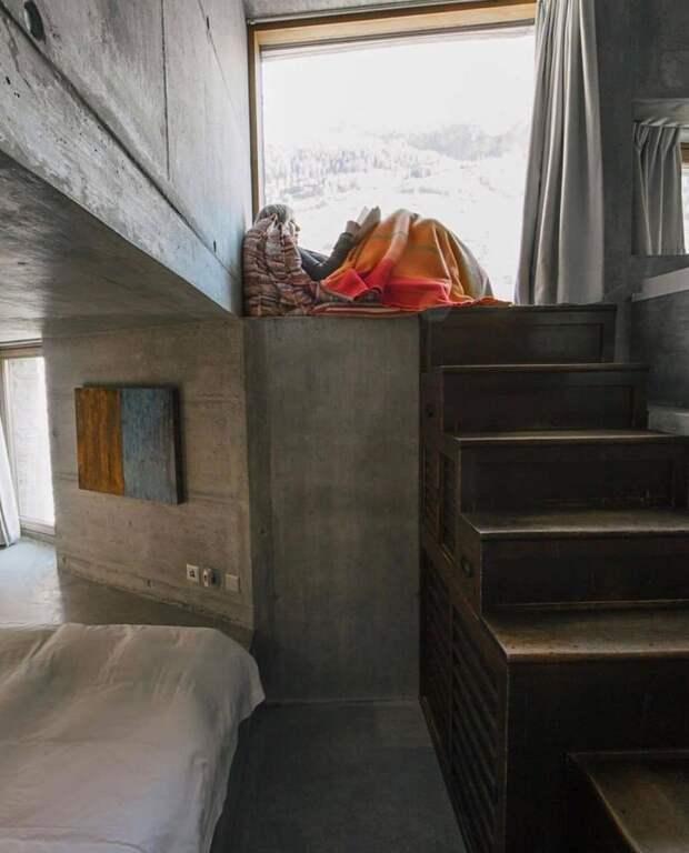 7 крутых фото подземной виллы в Альпах