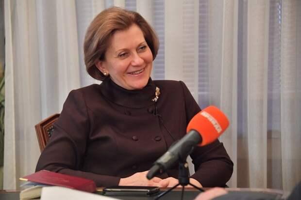Попова дала объяснение всплеску заболеваемости Cjvid-19 в России