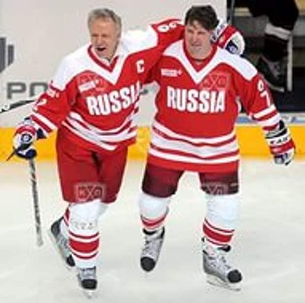 ФЕТИСОВ: Будем надеяться, что российская сборная реализует свою мечту. БЫКОВ: Наш финал с канадцами - это классика хоккея