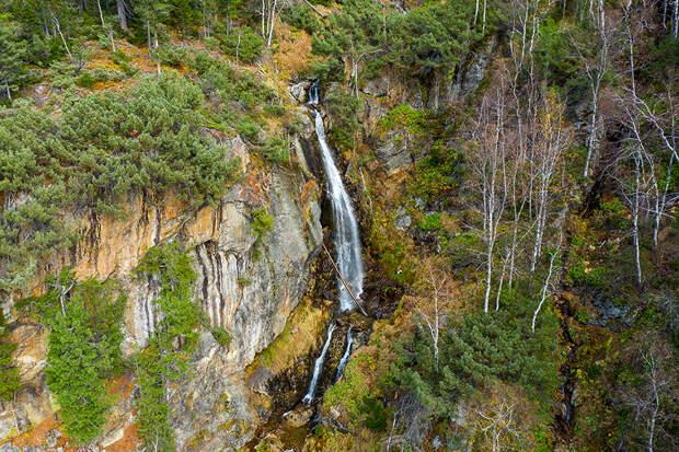 байкальский заповедник водопад