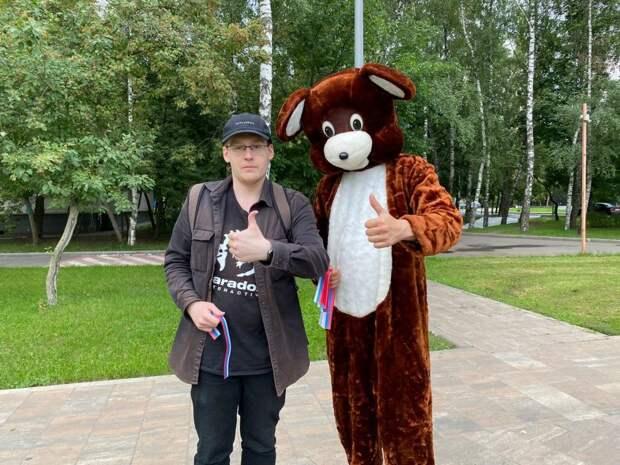 В Ховрине прошла акция «Наш Флаг — гордость России!»