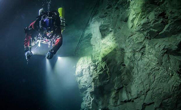 Дайверы Урала нашли подводный грот. Но никто не предполагал, что скрывала бездна!