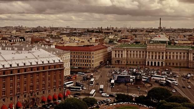 Петербург ожидает дождливая погода во второй половине мая