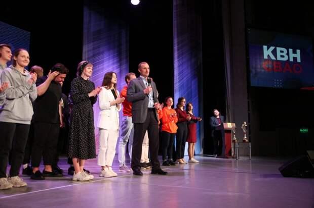 Кубок префекта СВАО на фестивале КВН выиграла команда МГПУ