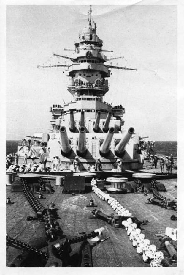 Линкор «Dunkerque»
