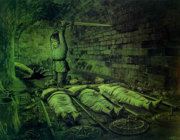 Чем были Умертвия в Могильниках Средиземья?