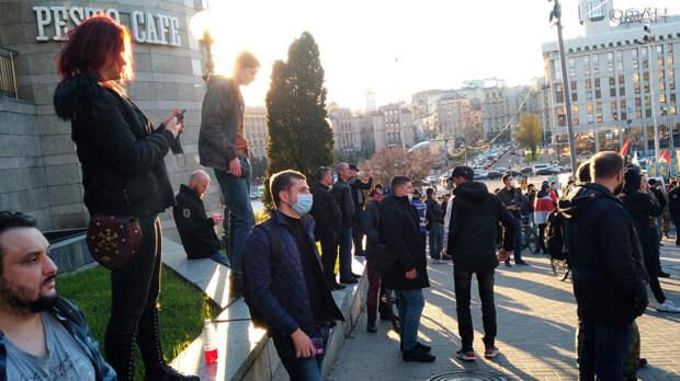 Украинский эксперт Дробович осудил марш националистов в Киеве