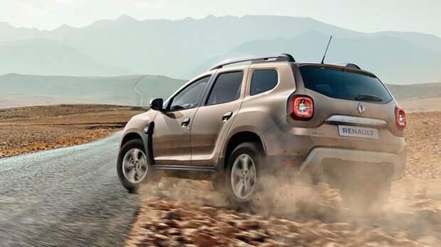 Кроссовер Renault Duster оснастили вариатором для бездорожья