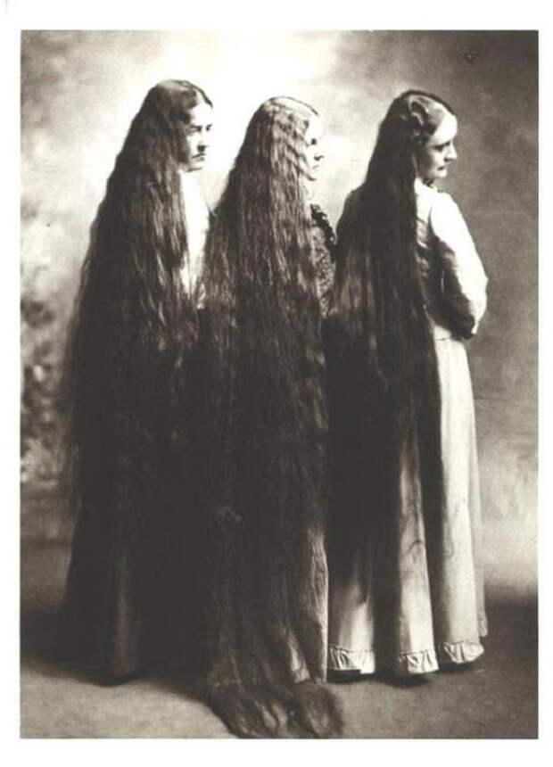 Как красавицы ухаживали за волосами в 19 веке