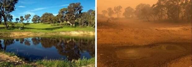 Шокирующие снимки с горящего континента Австралия
