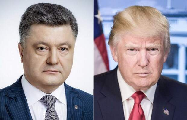 Порошенко по итогам переговоров с Трампом ни разу не гавкнул в сторону России