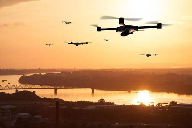 ВВеликобритании разрабатывают «воздушные дороги» для летающих такси: Новости ➕1, 14.05.2021