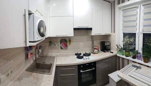 Семья из двух человек сделалл идеальную кухню на площади 6,2 кв. м - смотрим и оцениваем