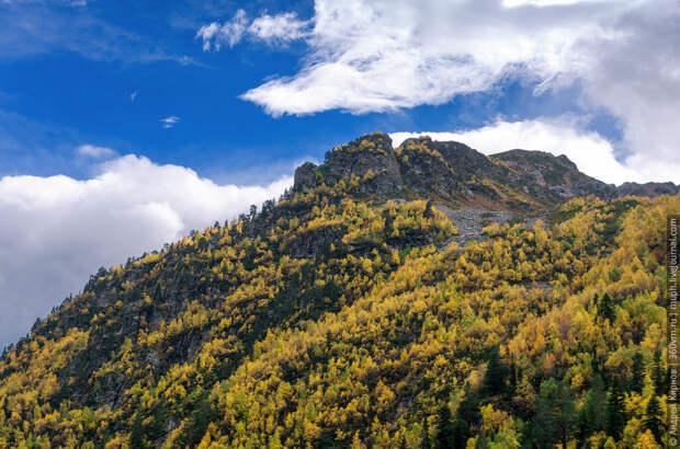Осень в горах Архыза