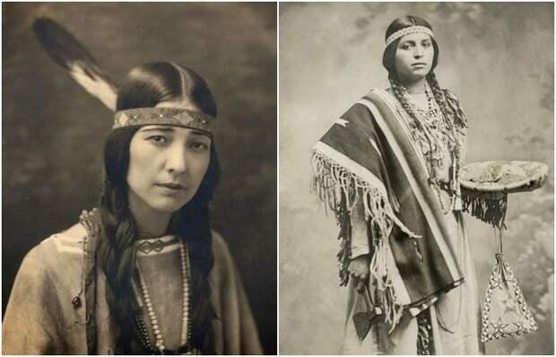 Чаще всего женщины носили именно такие головные повязки. /Фото: diletant.media, livejournal.com