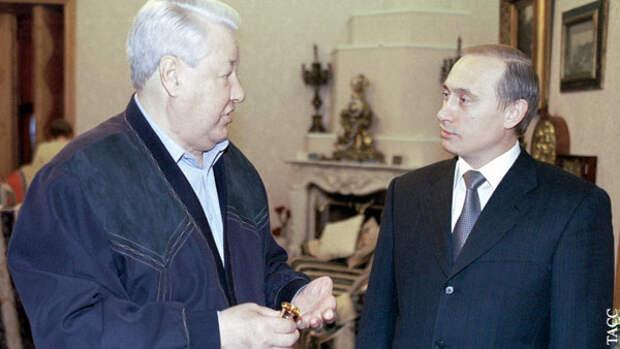 Юмашев рассказал, почему Ельцин выбрал Путина преемником