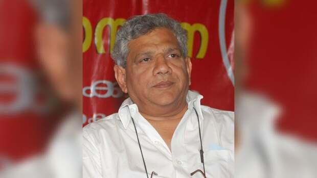 Генеральный секретарь Коммунистической партии Индии (Марксистской) Ситарам Ечури