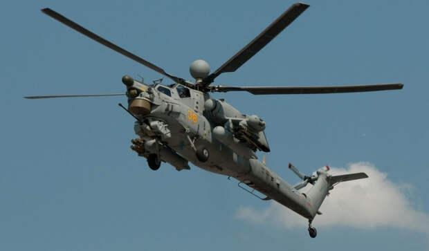 """Военный летчик Попов назвал """"фишку"""" российского вертолета Ми-28НМ"""