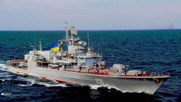 Без единого выстрела: выведен из строя флагман украинских ВМС