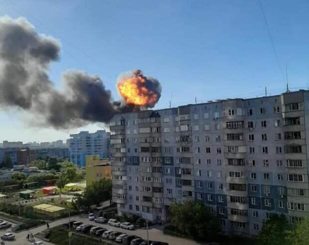 Число пострадавших при пожаре на заправке в Новосибирске выросло до 16