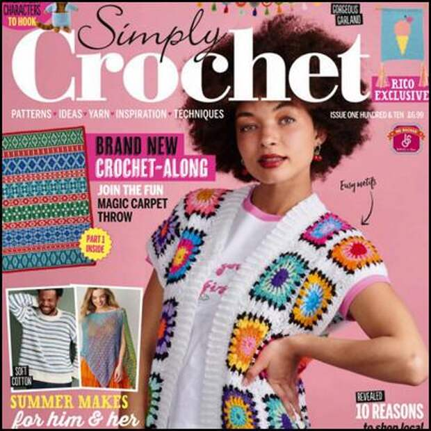 Simply Crochet №110, май 2021