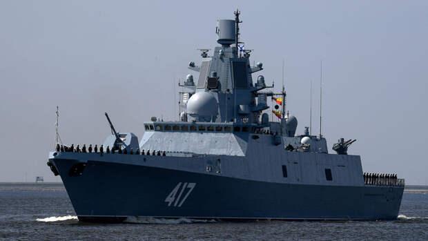 """Фрегат """"Адмирал Горшков"""" испытает новое ракетное оружие в Белом море"""