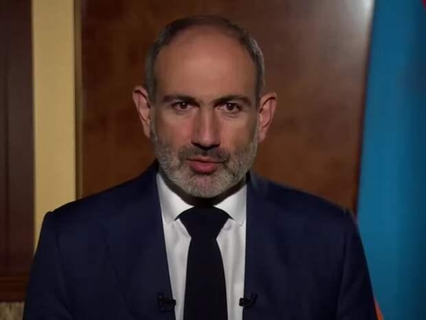 Пашинян заявил об отставке с поста премьера Армении