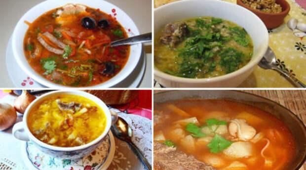 7 самых вкусных и горячих первых блюд