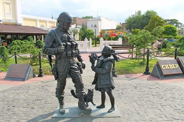 Памятник событиям 2014 года в Симферополе
