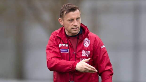 Футбольный ЦСКА уволил главного тренера Олича после двух месяцев работы